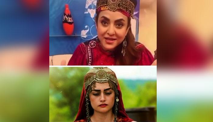 نادیہ خان حلیمہ سلطان بن گئیں