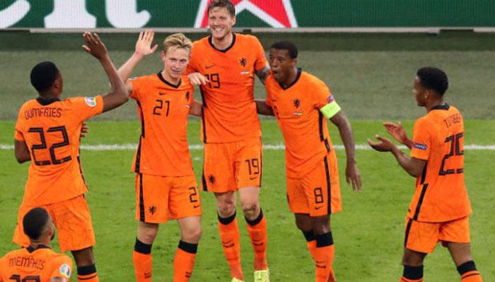 یوروکپ فٹبال : نیدرلینڈ نے آسٹریا کو دو گول سے ہرا دیا