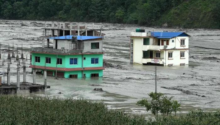 نیپال میں طوفانی بارشوں نے تباہی مچا دی