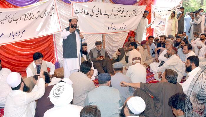 بلوچستان اسمبلی: اپوزیشن کے احتجاجی کیمپ کا چوتھا دن