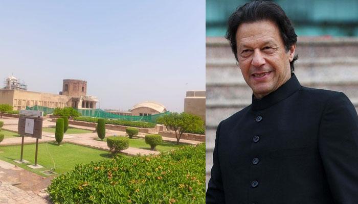 وزیراعظم نے قلعہ لاہور کی تازہ تصویریں شیئر کردیں