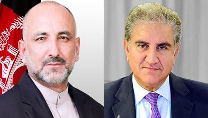 الزامات اور منفی بیانیہ افغان امن عمل کیلئے خطرہ ہے، شاہ محمود کی افغان ہم منصب سے گفتگو