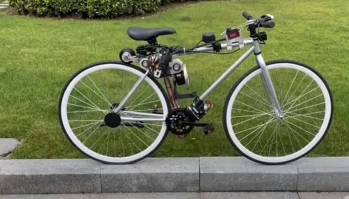 چین میں سیلف بیلنسنگ سائیکل تیار