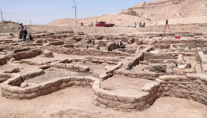 مصر کاسب سے بڑا اور قدیم شہر دریافت