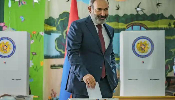 آرمینیا:وزیراعظم کی سیاسی جماعت پارلیمانی انتخابات میں کامیاب ہوگئی