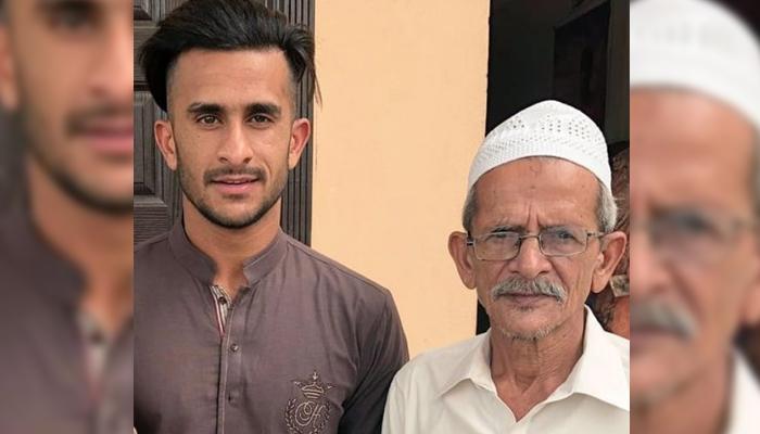 حسن علی نے والد کے ہمراہ تصویر شیئر کردی