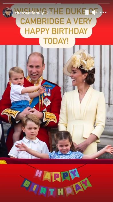 برطانوی شہزادہ ولیم 39 برس کے ہوگئے