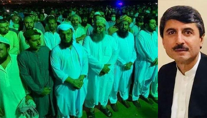 عثمان کاکڑ کی نمازِ جنازہ کراچی میں ادا