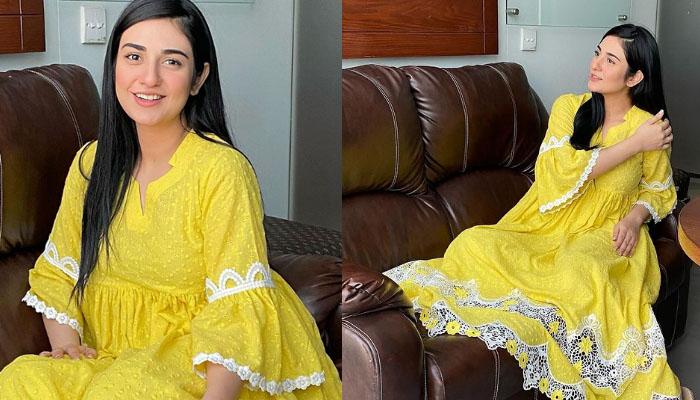 سارہ خان کی نئی تصاویر پر فلک کا کمنٹ