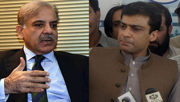 بینکنگ کورٹ کا شہباز اور حمزہ کوضمانتی مچلکے جمع کرانے کا حکم