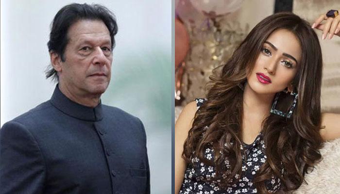 زرنش خان عمران خان کے حق میں بول پڑیں