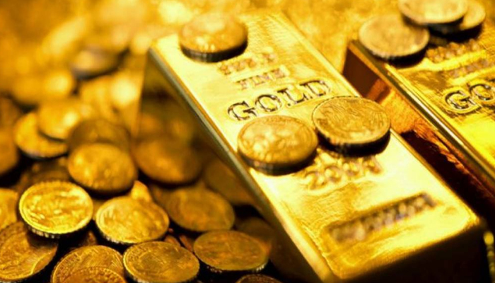آج ملک میں سونے کی فی تولہ قیمت میں 450 روپے کا اضافہ