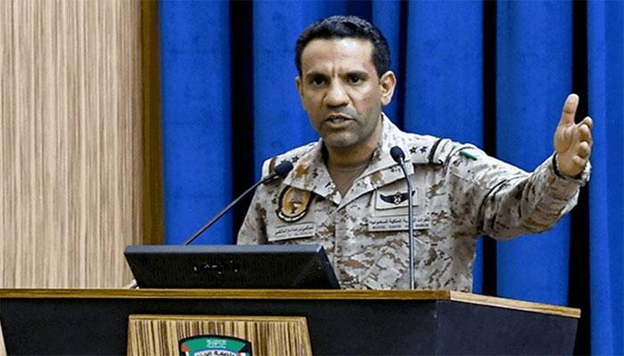 حوثیوں کا ایک اور ڈرون تباہ کردیا گیا، ترجمان عرب اتحادی فوج