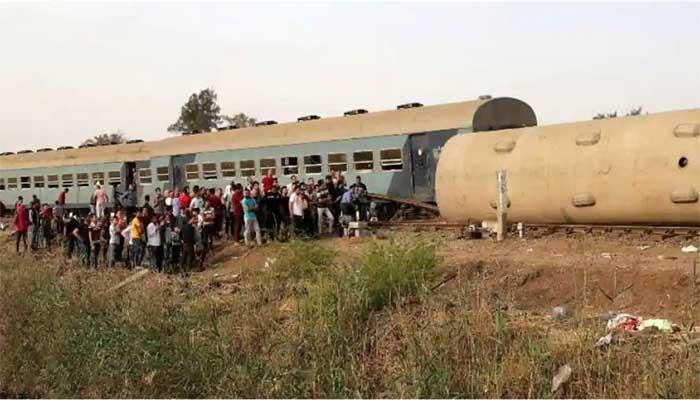مصر میں دو ٹرین حادثات، 2 افراد جاں بحق، 46 زخمی