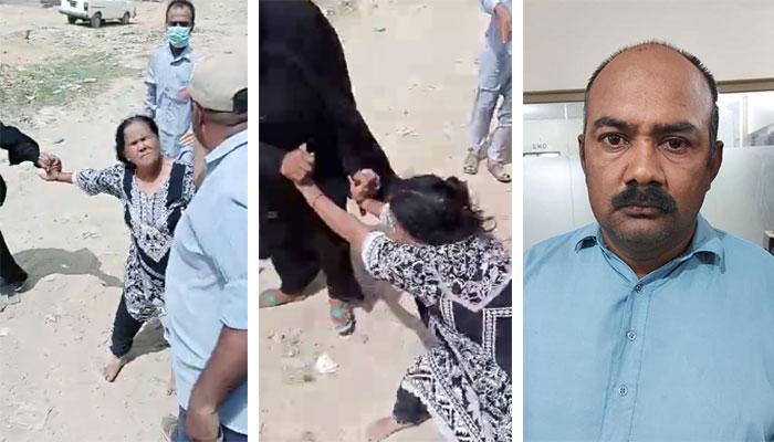 کراچی: بزرگ خاتون پر تشدد کی ویڈیو وائرل، ملزم گرفتار