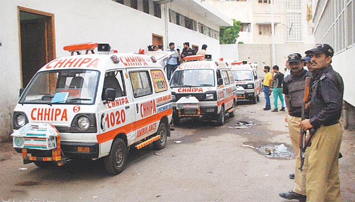 کراچی: فلیٹ سے گلا کٹی لاش برآمد