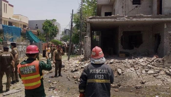 لاہور: دھماکا ہائی ویلیو ٹارگٹ کے گھر کے قریب ہوا