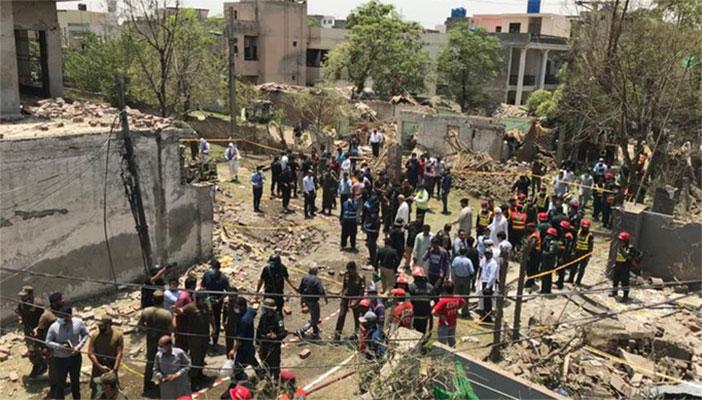 جوہر ٹاؤن دھماکا، لاہور میں سیکیورٹی ہائی الرٹ