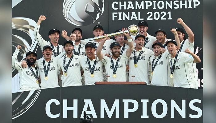 بھارت چاروں شانے چت، نیوزی لینڈ ٹیسٹ کرکٹ کا عالمی چیمپئن بن گیا