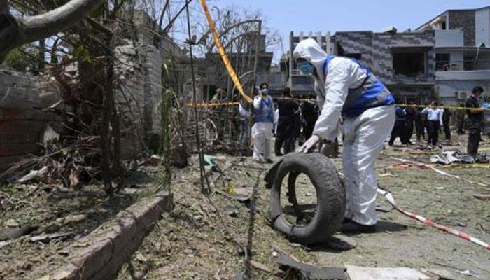 جوہر ٹاؤن دھماکا، زخمی حاملہ خاتون کی حالت تشویشناک