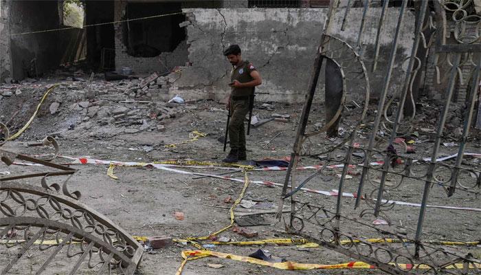 حافظ سعید کے گھر کے قریب دھماکا، کئی افراد زیرِ حراست