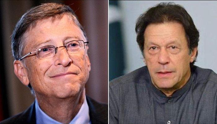 وزیراعظم عمران خان کا بل گیٹس سے ٹیلی فونک رابطہ