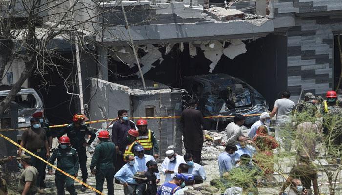 لاہور دھماکا، ملوث مشکوک شخص زیرِ حراست