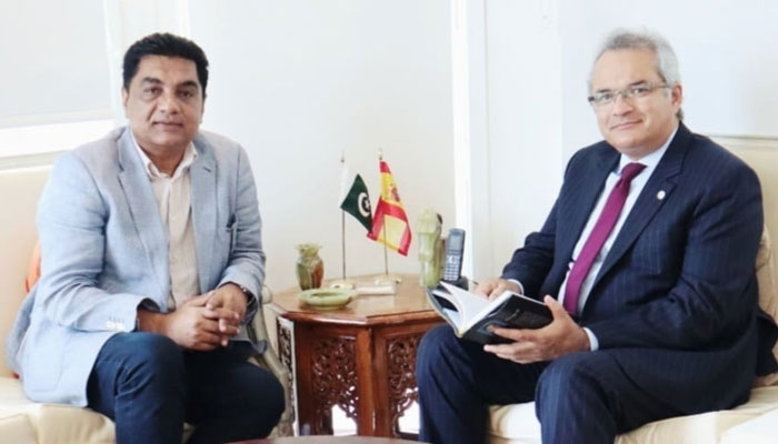 پاکستان اور اسپین کے مابین دہری شہریت کے معاہدے پر کام ہوگا، سفیر پاکستان