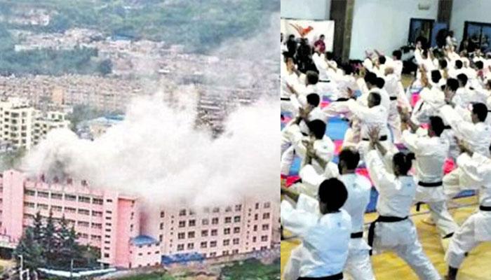 چین:مارشل آرٹ اسکول میں آتشزدگی سے 18 افراد ہلاک
