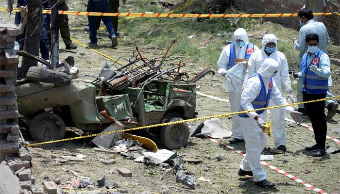 لاہور دھماکا: کراچی میں پیٹر پال ڈیوڈ کے گھر پر چھاپہ