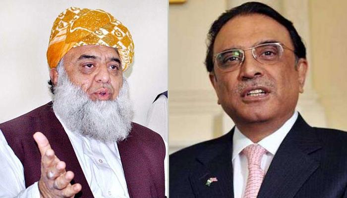 آصف زرداری نے فضل الرحمٰن کو گلدستہ بھجوایا ہے، ترجمان اسلم غوری