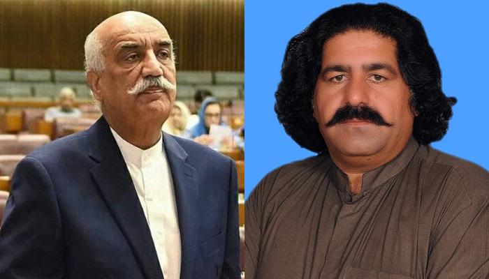 خورشید شاہ، علی وزیر کے پروڈکشن آرڈر کا اجراء