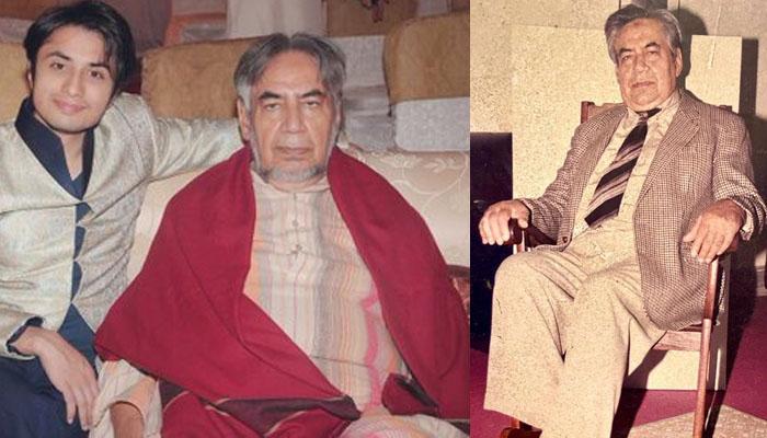 علی ظفر کے نانا انتقال کرگئے