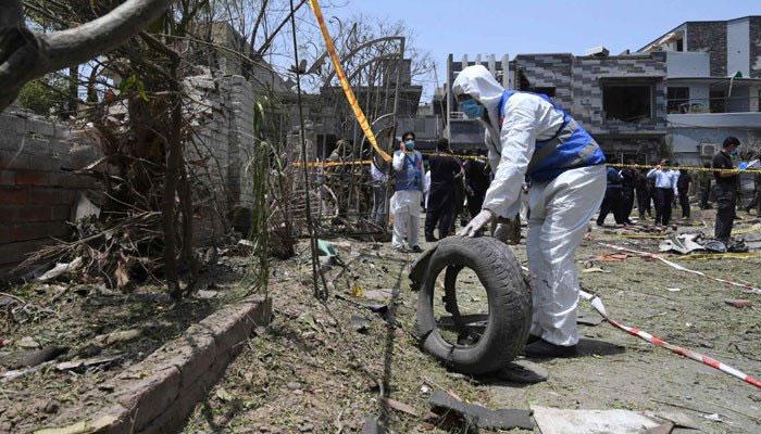 لاہور دھماکے کا اہم ملزم عید گل پنڈی سے گرفتار