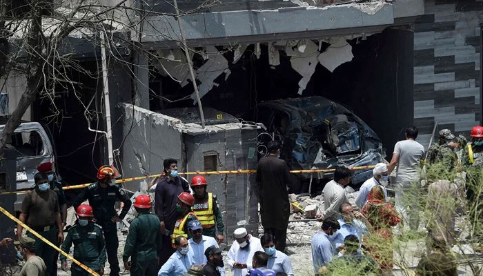لاہور دھماکے کا گرفتار مبینہ دہشتگرد پنڈی سے لاہور منتقل