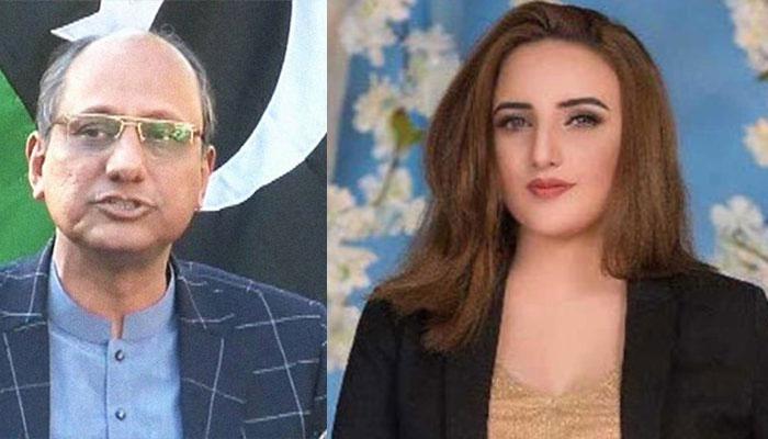 حریم شاہ کے سندھ کے ایم پی اے سے شادی سے متعلق دعوے پر صحافی کا سعید غنی سے سوال