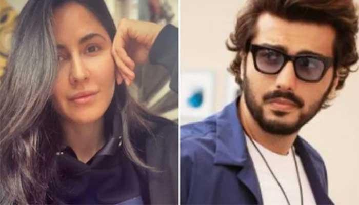 ارجن کپور کی کترینہ کو ان کے بیوٹی لیبل کیلیے بطور مرد ماڈل بننے کی پیشکش