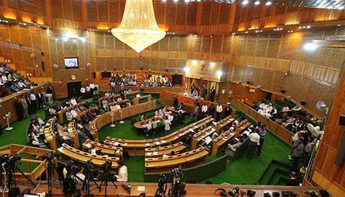 آزاد کشمیر اسمبلی میں بجٹ پیش