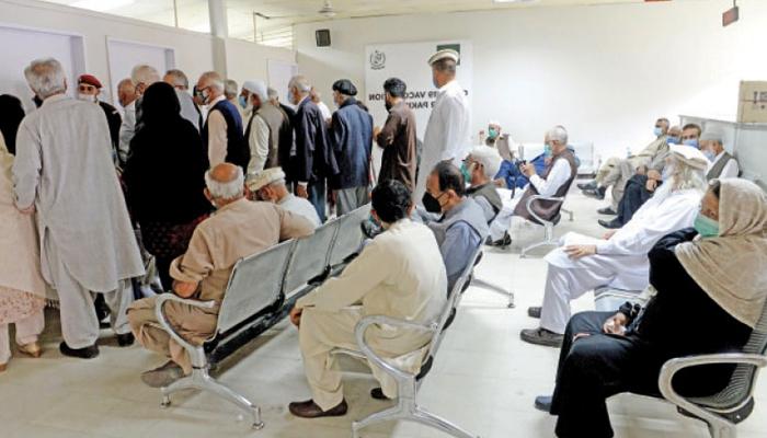 اسلام آباد، F9 پارک میں قائم ماس ویکسینیشن سینٹر بد نظمی کے باعث بند