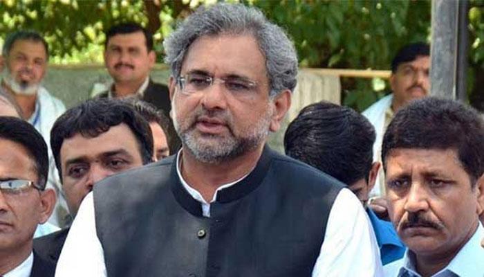 وزیروں نے ملکی معیشت تباہ کر دی، شاہد خاقان عباسی