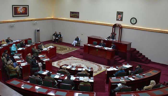 جی بی اسمبلی اجلاس، اپوزیشن اور حکومتی ارکان کے درمیان جھڑپ