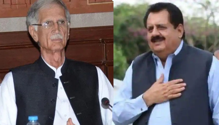 قومی اسمبلی اجلاس، پرویز خٹک اور طارق بشیر چیمہ کے درمیان دلچسپ مکالمہ