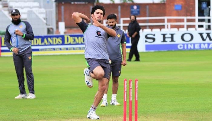 پاکستان کرکٹ ٹیم کا ڈربی میں 4 گھنٹے بھرپور ٹریننگ سیشن