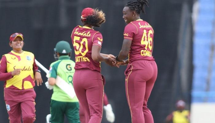پہلا T20: پاکستانی خواتین کو ویسٹ انڈیز کے ہاتھوں شکست