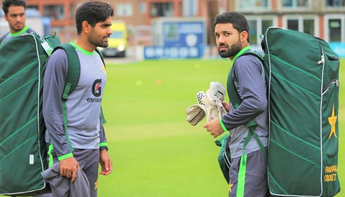دورۂ انگلینڈ: پاکستان ٹیم آج انٹرا اسکواڈ میچ کھیلے گی
