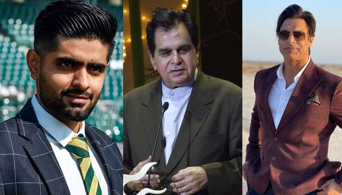 دلیپ کمار کے انتقال پر پاکستانی کرکٹرز کے پیغامات