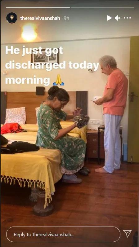 نصیر الدین شاہ اسپتال سے ڈسچارج ہوگئے