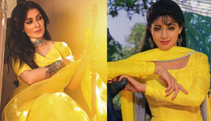 سری دیوی میرے لیے مثال ہیں: عائزہ خان