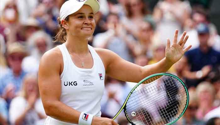 ومبلڈن ٹینس: ایشلے بارٹی اور پیلسکووا خواتین ایونٹ کے فائنل میں