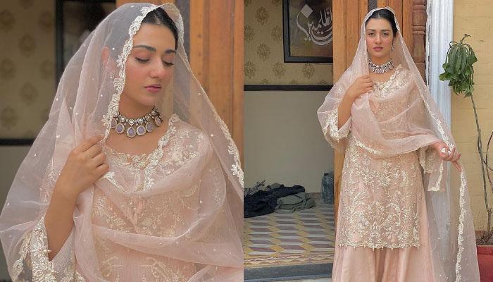 سارہ خان کا مشرقی انداز وائرل